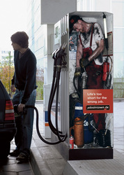 How a petrol pump really works
