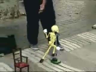 Link to Dancing Skeleton man.