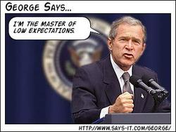George Bush says 4
