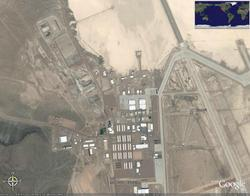 Google Earth - Area 51 Alian Visit